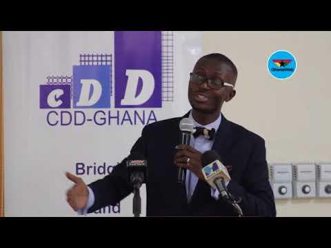 Bernard Avle's full speech at CDD's 'Assessment of Akufo-Addo's One Year in Office' event