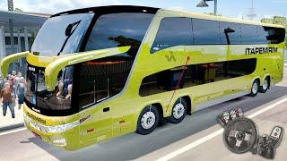 euro truck simulator 2 eaa bus itapemirim marcopolo g7 1800 dd 8x2 com logitech g27