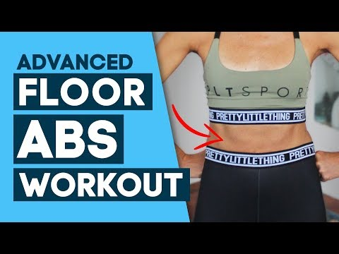 Floor Abs Workout. More For Your Core! *Advanced Interval* Pretty Little Thing Active Collaboration