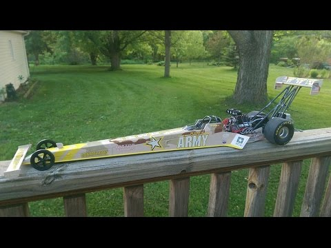 Tony Schumacher 1/16th Scale Dragster Diecast.