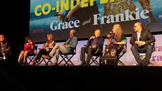 Netflix FYSEE 同妻俱樂部/葛蕾絲和法蘭琪 Grace & Frankie Q&A with cast and creators at Raleigh Studios 6/2/2018.