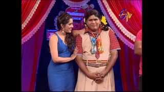 Jabardasth - Roller Raghu Performance on 23rd May 2013