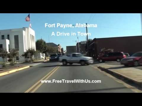 Fort Payne Alabama   Drive through Town