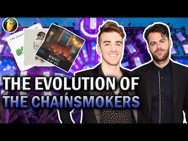 The Evolution Of The Chainsmokers (2012 - 2017) (FL Studio)