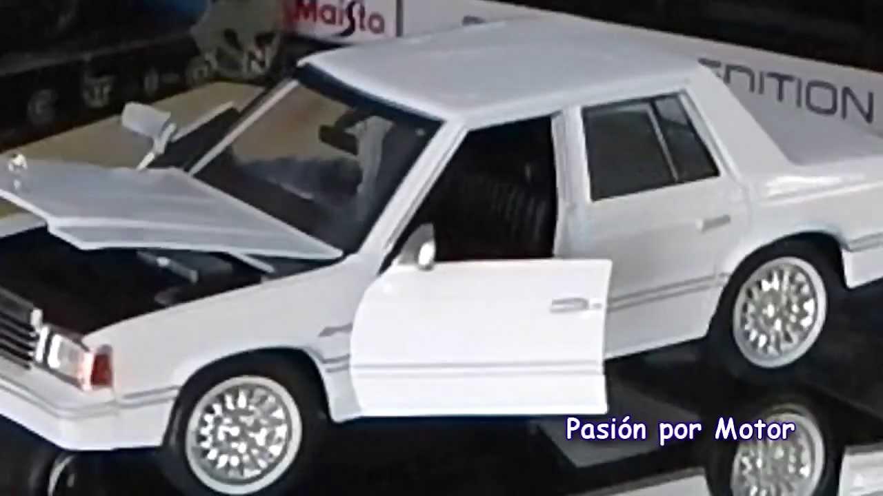 Dodge Dart Turbo >> Rev 1/24 Dodge Aries K 1982 ( Dart ) de Motor Max Revisión ...