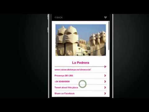 Barcelona Design Tour - App for Iphone and Android