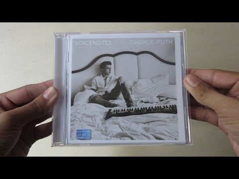 Charlie Puth - Voicenotes - Unboxing CD En Español
