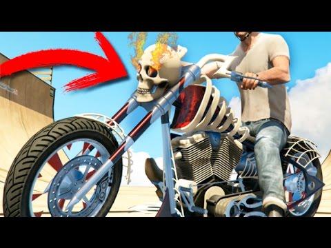 HALLOWEEN GTA V 2016 MOTO FANTASMA !!  GTA 5 ONLINE Makiman