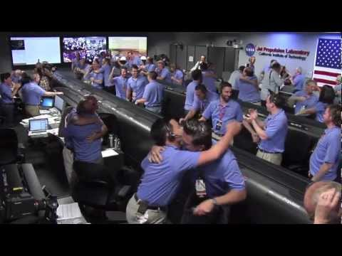 The Landing of Curiosity | NASA JPL MSL Mars Rover HD Video