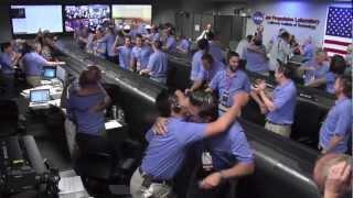 The Landing of Curiosity   NASA JPL MSL Mars Rover HD Video