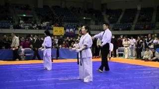 2012年1月29日、極真空手グランプリ2012(千葉田中道場主催) 高校男子...
