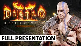 Diablo 2: Resurrected Deep Dive Panel | BlizzCon 2021