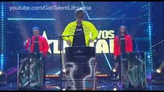 Lietuvos Talentai 2014 m. 5 serija | Ritmas KITAIP