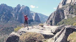 Rock Climbing  Yosemite National Park pt 2