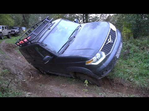 УАЗ Патриот в компании клуба Jeep Custom. Поездка под Киржач!