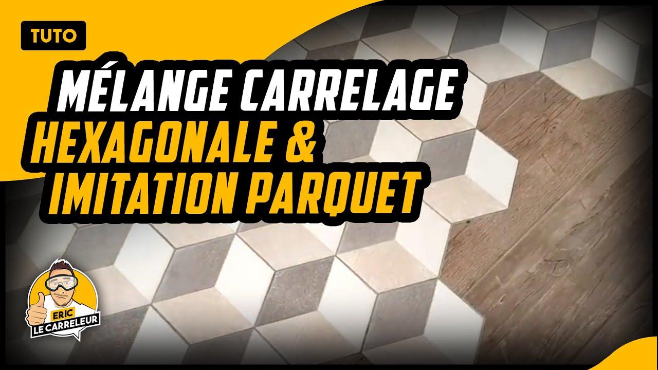 Comment Poser Du Carrelage Hexagonale Avec De L Imitation Parquet Youtube