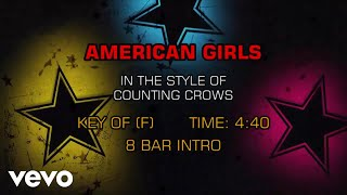 Counting Crows - American Girls (Karaoke)
