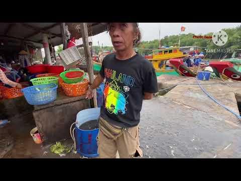 Chợ Hải sản tươi cần giờ giá rẻ
