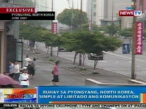 NTG: Exclusive: Buhay sa Pyongyang, North Korea, simple at limitado ang komunikasyon