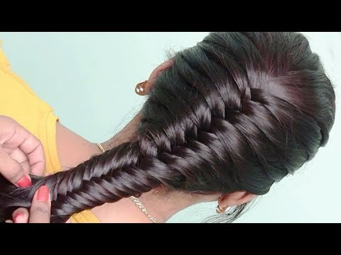 amazing hairstyle with trick || latest hairstyle || party hairstyle || prom Updo hairstyles thumbnail