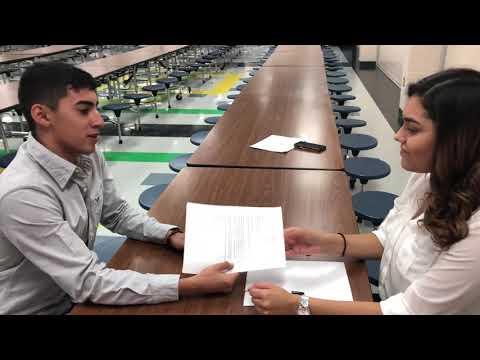 Angel Martinez Job interview