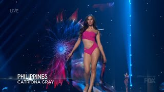 Miss Universe 2018 - Catriona Gray Philippines Hig...