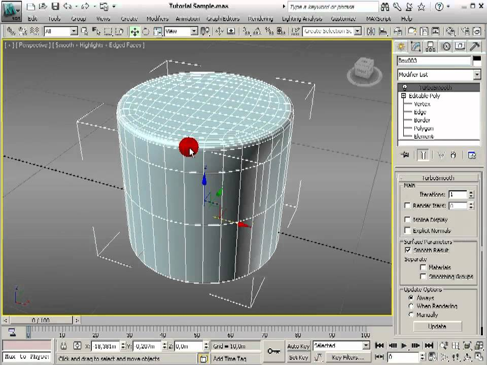 Tutorial 3 Hard Surface Modelling Round And Cylindral Joints In 3ds Max Youtube Xoio Hard Surface Modeling 3d Tutorial 3ds Max Tutorials