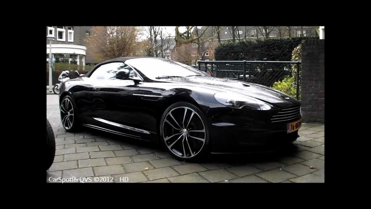Aston Martin Dbs Volante Carbon Black Edition Dbs Volante Spotted In Amsterdam 720p Hd Youtube
