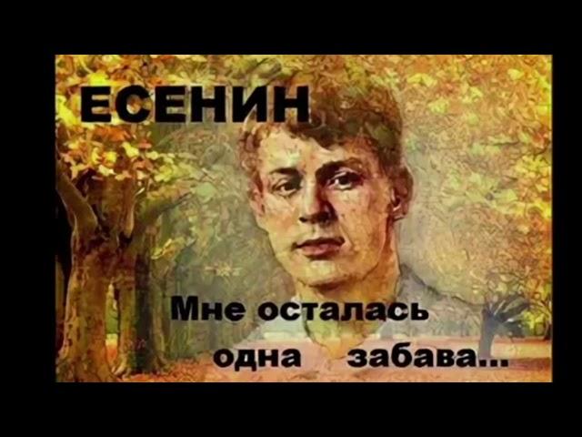 Изображение предпросмотра прочтения – АртурСимин читает произведение «Мне осталась одна забава» С.А.Есенина