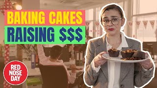 EXTREME OFFICE BAKE OFF | Comic Relief