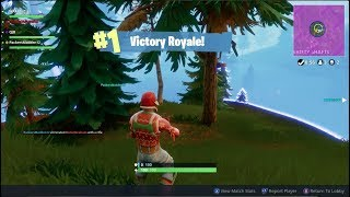 MY 1ST EVER WIN ON SQUADS! Fortnite Battle Royale Gameplay Ep. 3