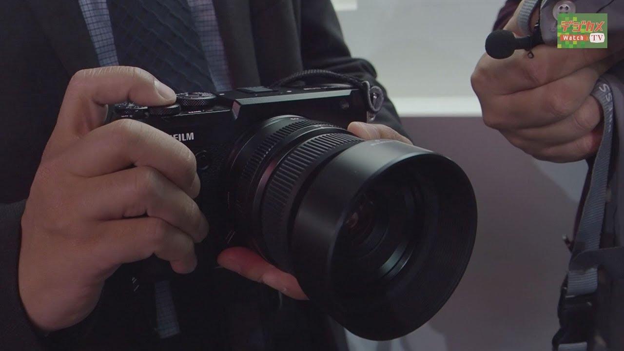 フォトキナ2018 富士フイルムの新型中判ミラーレス gfx 50r と gfx