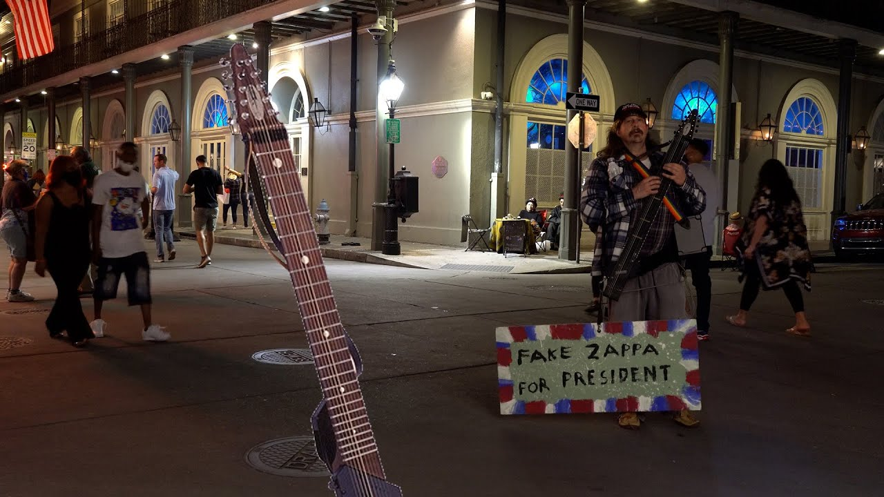 ChapmanStick Jam on Bourbon Street - full uncut video - Oct 16, 2020