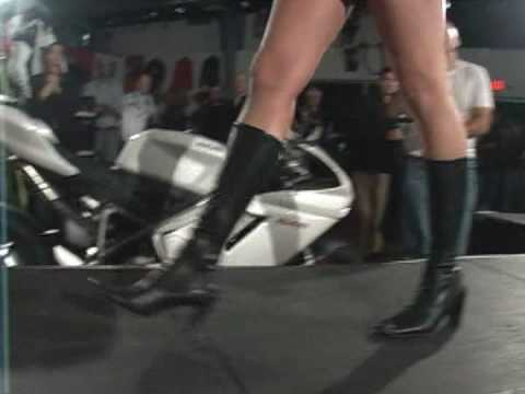 Ducati Fashion Show 2009 -- Hot Fashion in Cold New Hampshire!