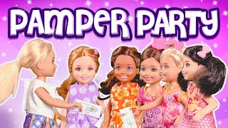 Barbie - Chelsea's Birthday Pamper Party | Ep.67