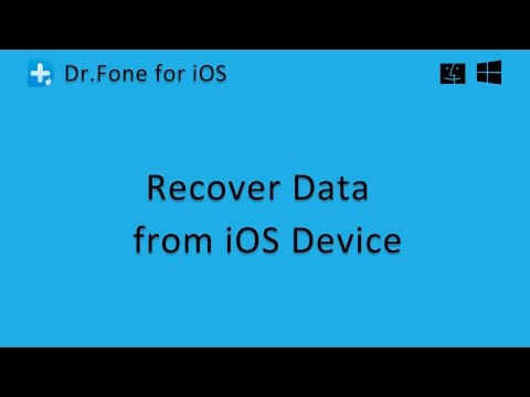 Dr.Fone  - Recover Data from iOS Device Directly