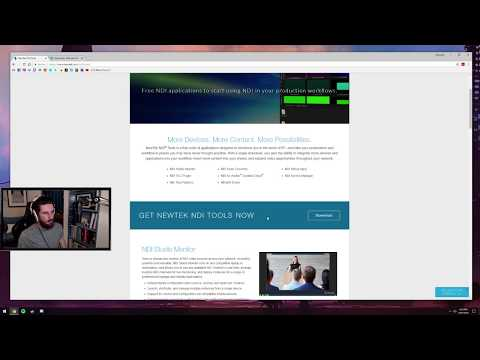 Streamlabs OBS (Slobs) DUAL PC w/ NDI SETUP, no capture card required   (Scan Converter Method, 2018)