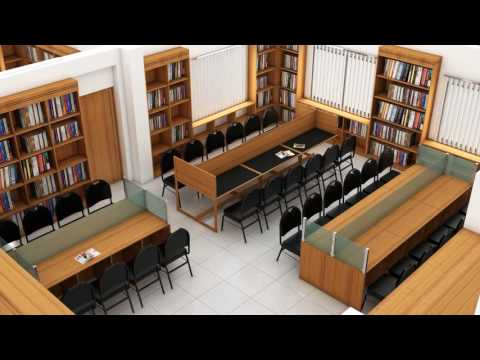 Bookshelf/Library Tour /School library design ideas-2017