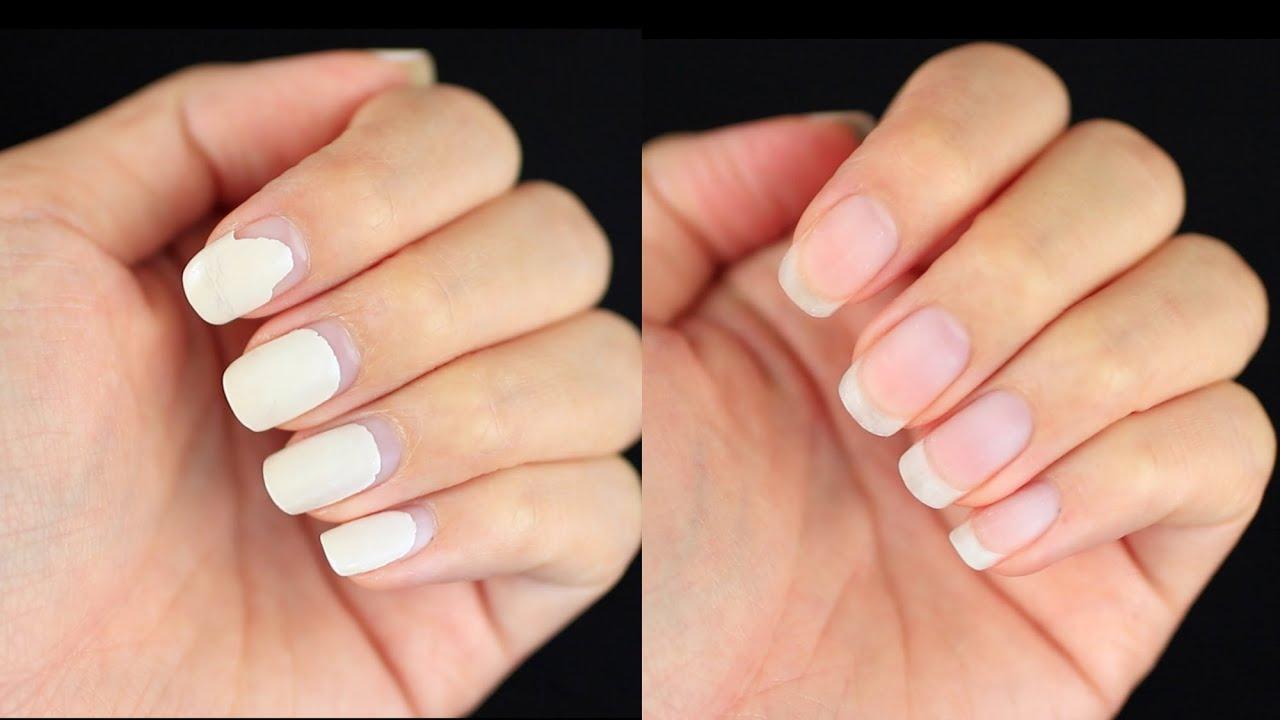 damage-free remove gel nails