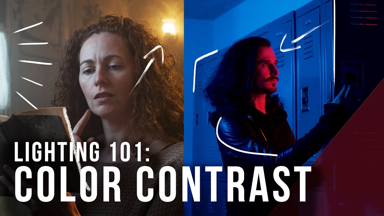 Lighting 101: Contrasting with Color