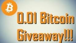 0.01 Bitcoin Giveaway!!!!