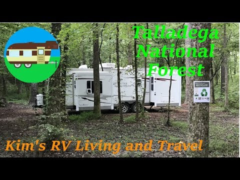 RV Camping in the Talladega National Forest