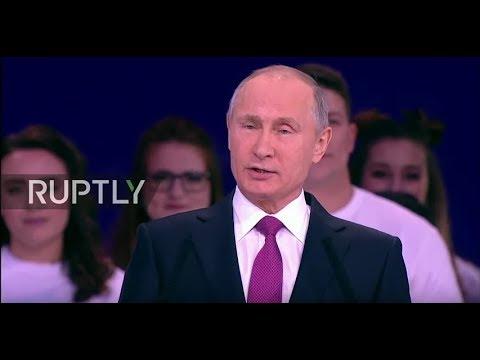 LIVE: Putin speaks at Russian Volunteer 2017 Award