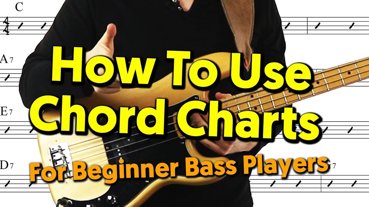Beginner Bass Player Guide To Chord Charts - YouTubeYouTube