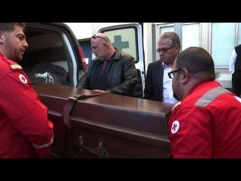 Body of British doctor arrives in Lebanon
