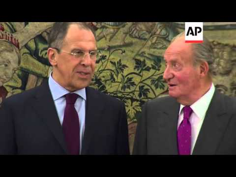 Kerry/Ukraine FM arrive in Paris for talks on Ukraine and Lebanon summit; Lavrov in Spain
