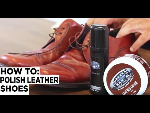 How to Polish Leather Shoes - Shoe MGK