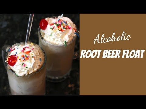 Root Beer Float With Smirnoff Vodka | Alcoholic Drinks Recipes