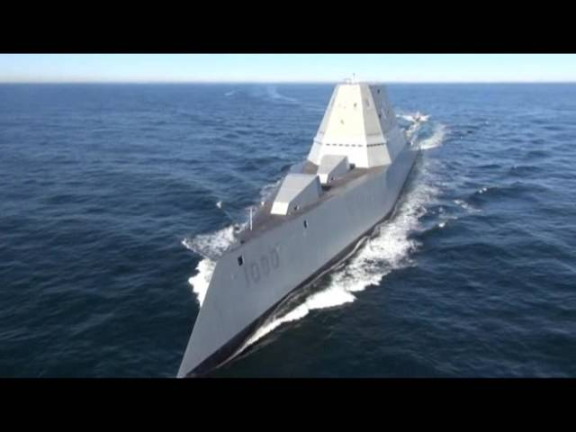 The largest destroyer the Navy has ever built arrived in