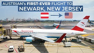 TRIPREPORT   Austrian Airlines (Economy)   INAUGURAL FLIGHT   Vienna - Newark   Boeing 767-300ER